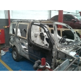 oficinas de funilaria automotiva de carros batidos Vila Alexandria