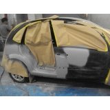 pintura automotiva com retoque