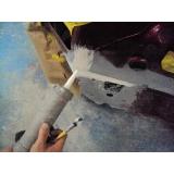 pintura tricoat com retoque Santo Amaro