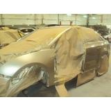 pintura tricoat localizada para carros