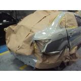 acabamento e polimento de restaurações de carros