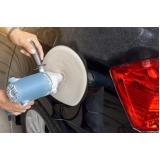 polimentos automotivos de pintura para veículos Pedreira